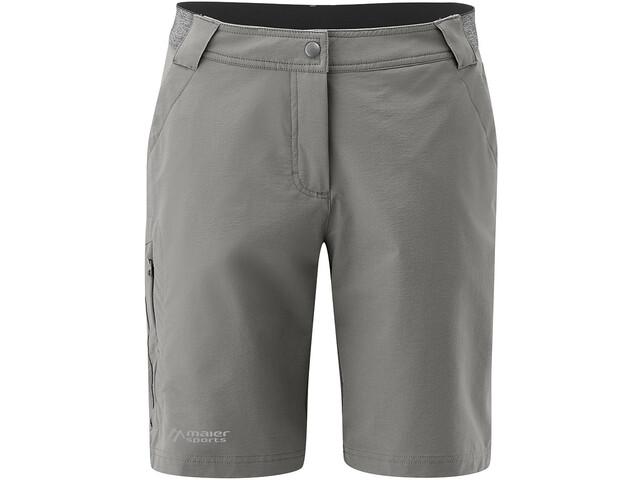 laatst koop uitverkoop 2018 sneakers Maier Sports Norit Bermuda Shorts Dames, pewter